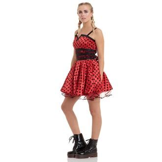 šaty dámské JAWBREAKER - Ladybird Flare - DRA 2076