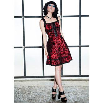 šaty dámské JAWBREAKER - Dark Damask