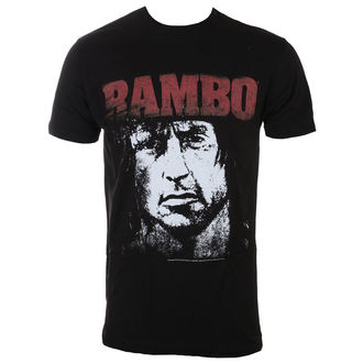 tričko pánské RAMBO - Red&White, AMERICAN CLASSICS