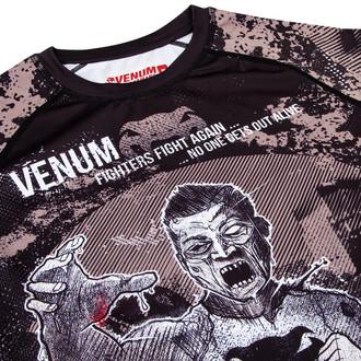 tričko pánské s dlouhým rukávem Venum - Zombie Return Rashguard - Black