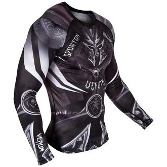 tričko pánské s dlouhým rukávem (termo) Venum - Gladiator 3.0 Rashguard - Black/White, VENUM