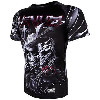 tričko pánské (termo) Venum - Samurai Skull Rashguard - Black, VENUM