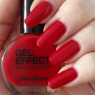 lak na nehty STAR GAZER - Gel Effect - Vampire, STAR GAZER