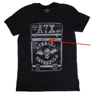 tričko pánské Avenged Sevenfold - Flightcase - ROCK OFF - POŠKOZENÉ, ROCK OFF, Avenged Sevenfold