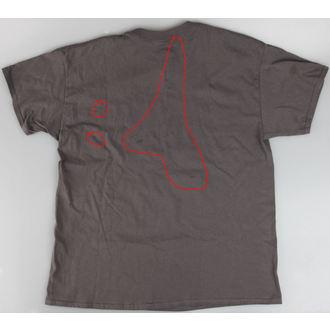 tričko pánské Slayer - Triangle Demon - ROCK OFF - POŠKOZENÉ