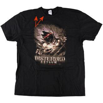 tričko pánské Disturbed - Asylum - Black - ROCK OFF - POŠKOZENÉ, ROCK OFF, Disturbed