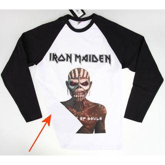 tričko pánské s dlouhým rukávem Iron Maiden - Book Of Souls - ROCK OFF - POŠKOZENÉ - NI061