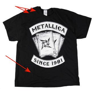 tričko pánské Metallica - Black Dealer - LIVE NATION - POŠKOZENÉ, LIVE NATION, Metallica