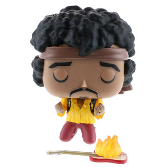 figurka Jimi Hendrix - POP! Rocks Vinyl Figure Jimi (Monterey), POP, Jimi Hendrix