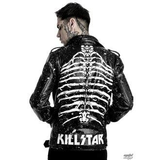 bunda pánská (křivák) KILLSTAR - Morgue Master - Black - POŠKOZENÝ, KILLSTAR