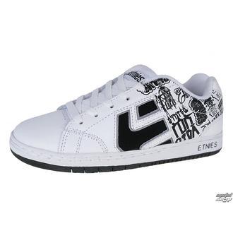 boty dětské ETNIES - Kids Cinch - Black/White/Print
