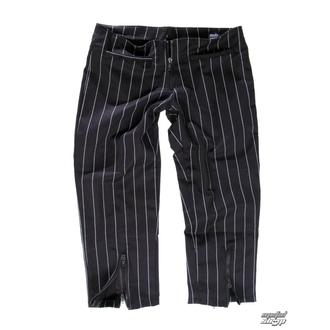 kalhoty dámské 3/4 Mode Wichtig - Zip Slacks Pin Stripe, MODE WICHTIG