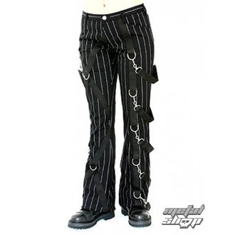kalhoty dámské Aderlass - Cross Pants Pin Stripe (Black-White), ADERLASS