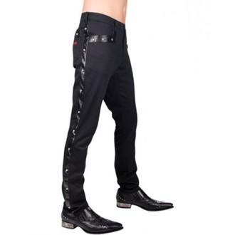 kalhoty pánské Aderlass - Rockstar Pants Denim (Black), ADERLASS