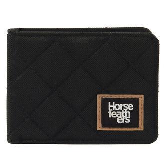 peněženka HORSEFEATHERS - DEACON - BLACK