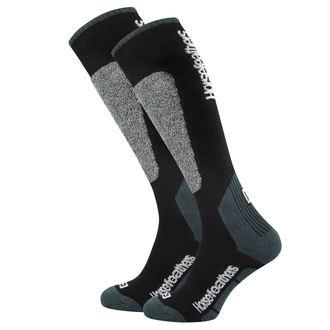 ponožky (podkolenka) HORSEFEATHERS - CALEB - BLACK, HORSEFEATHERS