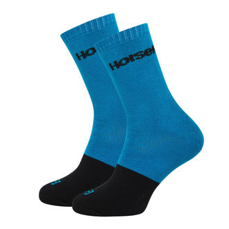 ponožky HORSEFEATHERS - MILTON - BLUE, HORSEFEATHERS
