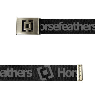 pásek HORSEFEATHERS - ICON - BLACK, HORSEFEATHERS