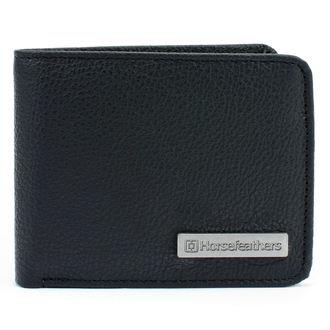 peněženka HORSEFEATHERS - BRAD - BLACK