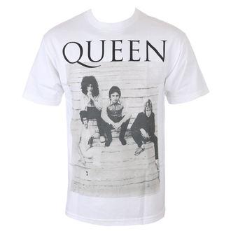 tričko pánské QUEEN - STAIRS - WHITE - BRAVADO, BRAVADO, Queen