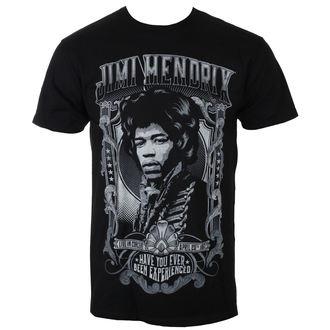 tričko pánské Jimi Hendrix - AUTHENTIC HENDRIX - BLK - BRAVADO, BRAVADO, Jimi Hendrix