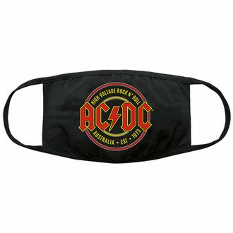 rouška (maska) AC/DC - Est. 1973 - Black - ROCK OFF, ROCK OFF, AC-DC