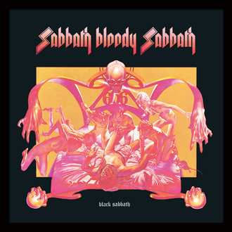 obraz Black Sabbath - (Sabbath Bloody Sabbath) - PYRAMID POSTERS, PYRAMID POSTERS, Black Sabbath
