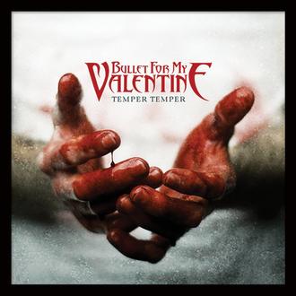obraz Bullet For My Valentine - (Temper Temper) - PYRAMID POSTERS, PYRAMID POSTERS, Bullet For my Valentine