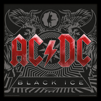 obraz AC/DC - (Black Ice) - PYRAMID POSTERS, PYRAMID POSTERS, AC-DC