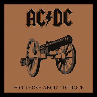 obraz AC/DC - (For Those About To Rock) - PYRAMID POSTERS, PYRAMID POSTERS, AC-DC