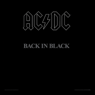 obraz AC/DC - (Back In Black) - PYRAMID POSTERS - ACPPR48063