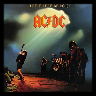 obraz AC/DC - (Let There Be Rock) - PYRAMID POSTERS, PYRAMID POSTERS, AC-DC
