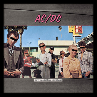 obraz AC/DC - (Dirty Deeds Done Dirt Cheap) - PYRAMID POSTERS, PYRAMID POSTERS, AC-DC