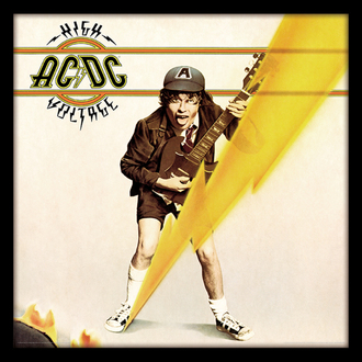 obraz AC/DC - (High Voltage) - PYRAMID POSTERS, PYRAMID POSTERS, AC-DC