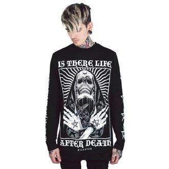tričko pánské s dlouhým rukávem KILLSTAR - Afterlife - BLACK