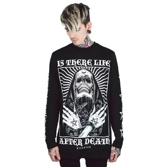 tričko pánské s dlouhým rukávem KILLSTAR - Afterlife - BLACK, KILLSTAR