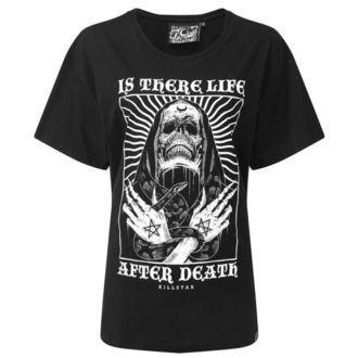 tričko dámské KILLSTAR - Afterlife Relaxed - BLACK