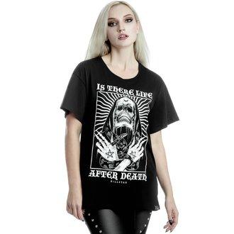 tričko dámské KILLSTAR - Afterlife Relaxed - BLACK, KILLSTAR
