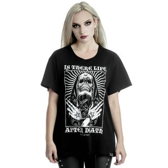 tričko dámské KILLSTAR - Afterlife Relaxed - BLACK, KILLSTAR