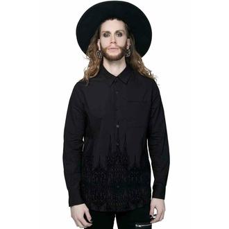 košile pánská KILLSTAR - Alexei - Black, KILLSTAR