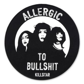 nášivka KILLSTAR - Allergic Back - BLACK, KILLSTAR