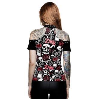 tričko dámské KILLSTAR - ROB ZOMBIE - American Nightmare Choker - BLACK, KILLSTAR, Rob Zombie