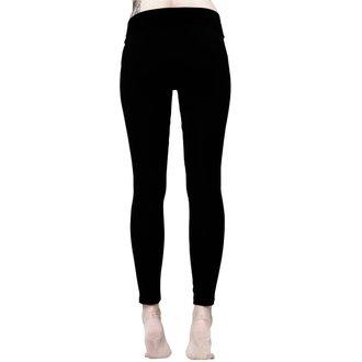 kalhoty dámské (legíny) KILLSTAR - Amulet - BLACK, KILLSTAR
