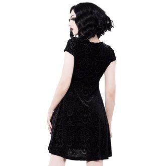 šaty dámské KILLSTAR - Angelyn - BLACK, KILLSTAR