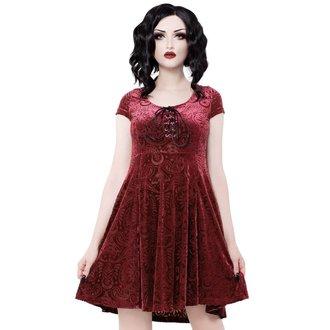šaty dámské KILLSTAR - Angelyn - WINE, KILLSTAR
