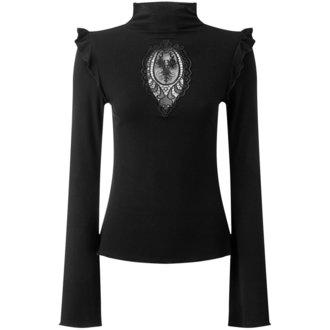 tričko dámské S dlouhým rukávem KILLSTAR - Antonia - BLACK, KILLSTAR