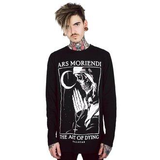 tričko pánské s dlouhým rukávem KILLSTAR - Ars Moriendi - BLACK, KILLSTAR