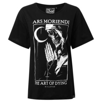 tričko dámské KILLSTAR - Ars Moriendi - BLACK