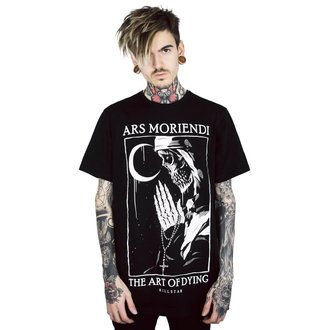 tričko pánské KILLSTAR - Ars Moriendi - BLACK, KILLSTAR