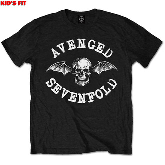 tričko dětské Avenged Sevenfold - Classic Deathbat - ROCK OFF, ROCK OFF, Avenged Sevenfold